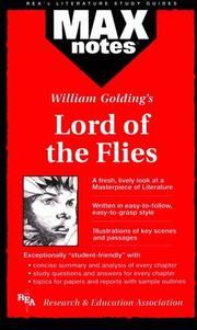 Cover of: MAXnotes for William Golding