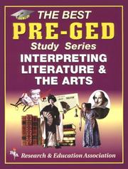 Cover of: Pre-GED Interpreting Literature and the Arts Test Preparations) | Elizabeth L. Chesla