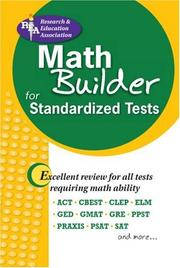 Cover of: Math Builder for Admission and Standardized Tests