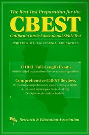 Cover of: The Best Test Preparation for the Cbest