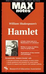 Cover of: Hamlet (MAXNotes Literature Guides) (MAXnotes)