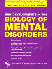 Cover of: Biology of Mental Disorders (Handbooks & Guides)