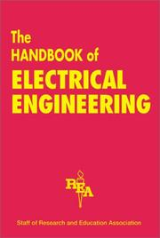 Cover of: The Handbook of electrical engineering
