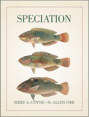 Cover of: Speciation | Jerry A. Coyne