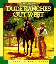 Cover of: Old-time dude ranches out west