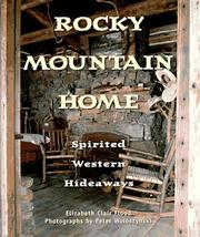 Cover of: Rocky Mountain home