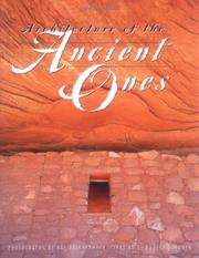 Cover of: Architecture of the ancient ones
