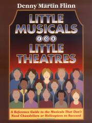 Cover of: Little musicals for little theatres