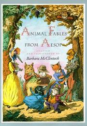 Cover of: Animal Fables from Aesop