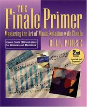 The Finale primer by Bill Purse