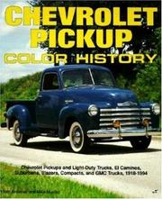 Cover of: Chevrolet pickup color history