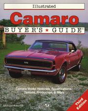 Illustrated Camaro buyer's guide by Michael Antonick