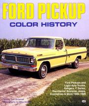 Cover of: Ford pickup color history