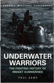 Cover of: Underwater warriors