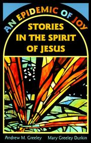 Cover of: An Epidemic of Joy: Stories in the Spirit of Jesus