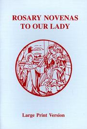 Cover of: Rosary Novenas to Our Lady | Charles V. Lacey