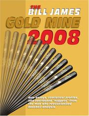 Cover of: The Bill James Gold Mine 2008 by Bill James