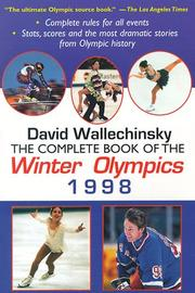 Cover of: Complete Book of the Winter Olympics 1998 (Complete Book of the Olympics)