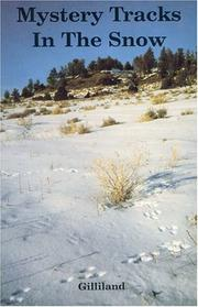 Cover of: Mystery tracks in the snow