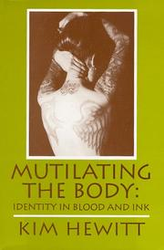 Cover of: Mutilating the body