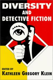 Cover of: Diversity and detective fiction