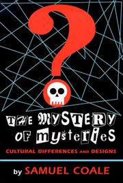 Cover of: The Mystery of Mysteries