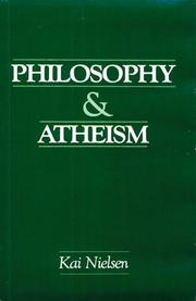Cover of: Philosophy & Atheism: in defense of atheism