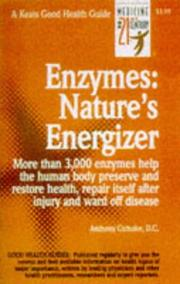 Cover of: Enzymes, nature's energizer