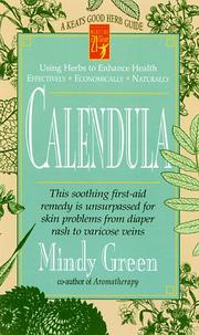 Cover of: Calendula | Mindy Green