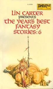 Cover of: The Year's Best Fantasy Stories