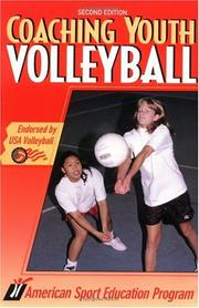 Cover of: Coaching youth volleyball
