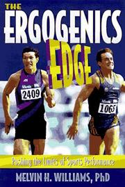 Cover of: ergogenics edge | Melvin H. Williams
