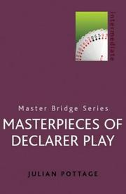 Cover of: Masterpieces of Declarer Play