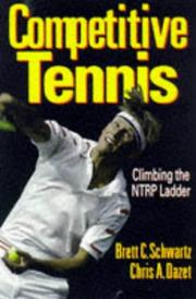 Cover of: Competitive tennis