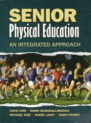 Cover of: Senior physical education