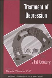 Cover of: Treatment of Depression | N. Y.) American Psychopathological Association Meeting 1999 (New York