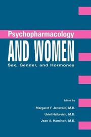 Cover of: Psychopharmacology and women |