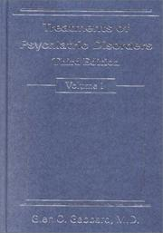 Cover of: Treatments of Psychiatric Disorders (2 Volume Set) (Treatments of Psychiatric Disorders)