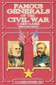 Cover of: Famous Generals of the Civil War