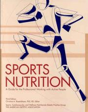 Sports Nutrition by American Dietetic Association