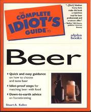 Cover of: The complete idiot's guide to beer