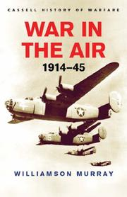 Cover of: War in the air, 1914-1945
