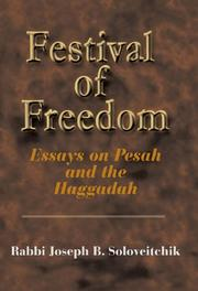 Cover of: Festival of Freedom | Joel B. Wolowelsky