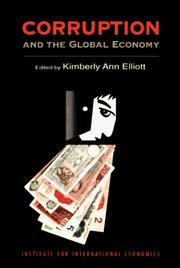 Cover of: Corruption and the global economy |