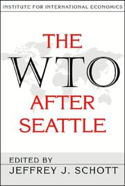 Cover of: The Wto After Seattle
