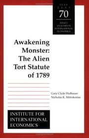 Awakening monster by Gary Clyde Hufbauer