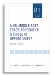 Cover of: A US-Middle East Trade Agreement