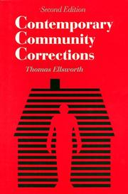 Cover of: Contemporary community corrections |