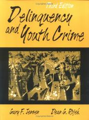 Cover of: Delinquency and youth crime