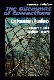 Cover of: The Dilemmas of Corrections  |